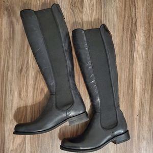Black Frye knee high boots
